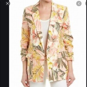 NWT Joie Tropical Linen Jacket
